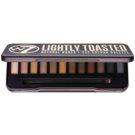 W7 Cosmetics In the Buff Lightly Toasted paleta očních stínů s aplikátorem  15,6 g