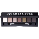W7 Cosmetics Angel Eyes Out on the Town paleta farduri de ochi cu oglinda si aplicator culoare Out on the Town 7 g