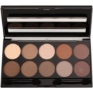 W7 Cosmetics 10 Out of 10 paleta senčil za oči odtenek Browns 10 g