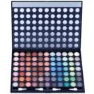W7 Cosmetics Paintbox paleta cieni do powiek z lusterkiem i aplikatorem (77 Eye Shadows) 481 g