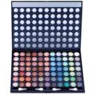W7 Cosmetics Paintbox палетка тіней з дзеркальцем та аплікатором (77 Eye Shadows) 481 гр