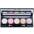 W7 Cosmetics The Big Five Eye Shadow Palette With Mirror And Applicator  4 g