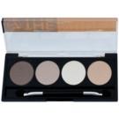 W7 Cosmetics The Nudes Palette mit Lidschatten mit einem  Applikator  5,6 g