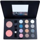 W7 Cosmetics The Tool Kit paleta multifunkcyjna z lusterkiem i aplikatorem  46,8 g