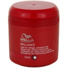 Wella Professionals Brilliance maszk a vastagszálú, festett hajra (Mask for coarse hair) 150 ml