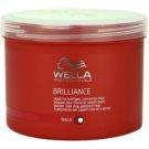Wella Professionals Brilliance maseczka  do grubych włosów  farbowanych  500 ml