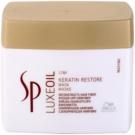 Wella Professionals SP Luxeoil mascarilla nutritiva para cabello maltratado o dañado (Keratin Restore Mask) 400 ml