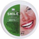 White Pearl Smile pó de clareamento dental Mentol+ 30 g