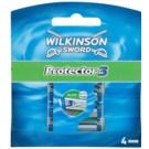 Wilkinson Sword Protector 3 zapasowe ostrza (Aloe + Comfort + Protection) 4 szt.