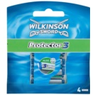Wilkinson Sword Protector 3 Replacement Blades (Aloe + Comfort + Protection) 4 pc