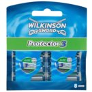 Wilkinson Sword Protector 3 zapasowe ostrza (Aloe + Comfort + Protection) 8 szt.