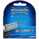 Wilkinson Sword Quattro Резервни остриета 4 бр