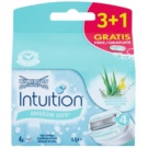 Wilkinson Sword Intuition Sensitive Care recarga de lâminas (With 100% Natural Aloe + Vitamin E) 4 un.