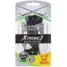 Wilkinson Sword Xtreme 3 Silver Edition Disposable Razors  8 pc