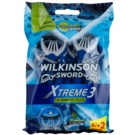 Wilkinson Sword Xtreme 3 Ultimate Plus jednorázová holítka 8 ks (Vitamin E + Aloe)