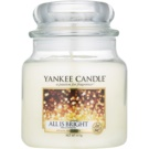 Yankee Candle All is Bright Scented Candle 411 g Classic Medium