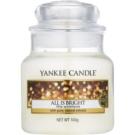 Yankee Candle All is Bright ароматизована свічка  105 гр Classic  маленька
