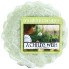 Yankee Candle A Child's Wish восък за арома-лампа  22 гр.