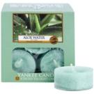 Yankee Candle Aloe Water vela do chá 12 x 9,8 g