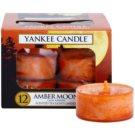 Yankee Candle Amber Moon čajová sviečka 12 x 9,8 g
