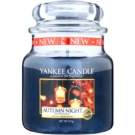 Yankee Candle Autumn Night vela perfumado 411 g Classic médio