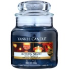Yankee Candle Autumn Night Scented Candle 105 g Classic Mini