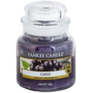 Yankee Candle Cassis vela perfumado 104 g Classic pequeno