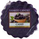 Yankee Candle Cassis cera para lámparas aromáticas 22 g