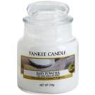Yankee Candle Baby Powder vela perfumado 104 g Classic pequeno