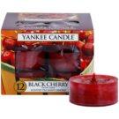Yankee Candle Black Cherry świeczka typu tealight 12 x 9,8 g
