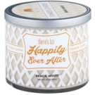 Yankee Candle Beach Wood illatos gyertya  283 g  (Here´s to Happily Ever After)