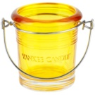 Yankee Candle Glass Bucket Glaskerzenhalter für Votivkerzen    (Yellow)