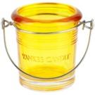 Yankee Candle Glass Bucket Glaskerzenhalter für Votivkerzen    (Yellow)