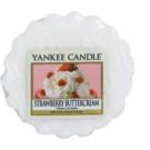 Yankee Candle Strawberry Buttercream cera para lámparas aromáticas 22 g