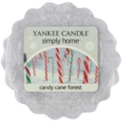 Yankee Candle Candy Cane Forest vosk do aromalampy 22 g
