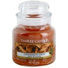 Yankee Candle Cinnamon Stick dišeča sveča  104 g Classic majhna