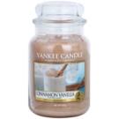 Yankee Candle Cinnamon Vanilla vonná svíčka 623 g Classic velká