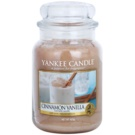 Yankee Candle Cinnamon Vanilla vela perfumado 623 g Classic grande