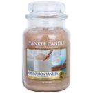 Yankee Candle Cinnamon Vanilla świeczka zapachowa  623 g Classic duża