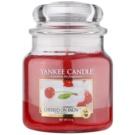 Yankee Candle Cherries on Snow dišeča sveča  411 g Classic srednja