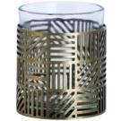 Yankee Candle Crosshatch Brass Glaskerzenhalter für Votivkerzen 1 St.