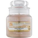 Yankee Candle Driftwood Duftkerze  104 g Classic mini