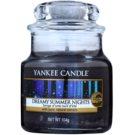 Yankee Candle Dreamy Summer Nights illatos gyertya  105 g Classic kis méret