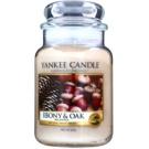 Yankee Candle Ebony & Oak Duftkerze  623 g Classic groß