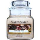 Yankee Candle Ebony & Oak lumanari parfumate  104 g Clasic mini