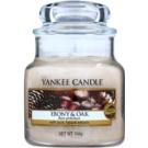 Yankee Candle Ebony & Oak Duftkerze  104 g Classic mini
