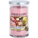 Yankee Candle Fresh Cut Roses ароматизована свічка  340 гр Décor середнього