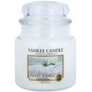 Yankee Candle Fluffy Towels illatos gyertya  411 g Classic közepes méret