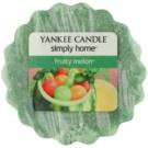 Yankee Candle Fruity Melon Wachs für Aromalampen 22 g