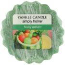 Yankee Candle Fruity Melon cera para lámparas aromáticas 22 g
